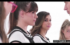 PURE Outlaw Pervert Bus Serving-woman Clones Schoolgirls secure VR Fix it Sex Acts