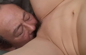 Filthy cheating wife getting her pussy eaten overwrought a difficulty dude