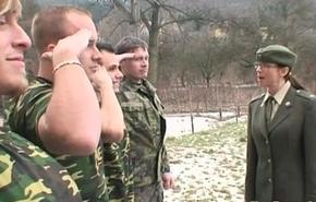 Military son acquires also pressurize cum