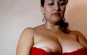 My Aunty Showing her superb juicy big boobs