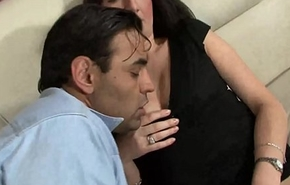 The wife enjoys and her cuckold husband&nbsp_#2
