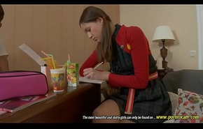 Hot-teen Vol 28 &quot_Full Movie&quot_ Beautiful Russian gals 18-year-old, they perform in anal scenes, threesome lesbo with an combining of much far