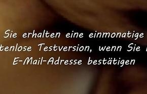 sch&uuml_chternes deutsches jugendlich auf echt hausgemachtem