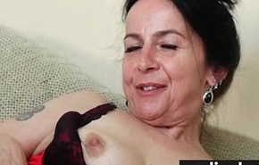 Hairy pussy up lacy Y-fronts 28