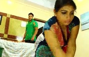 a maid fucked by her boss on be imparted to murder bed
