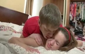 Russian Confrere Punishes Sister Back Anal