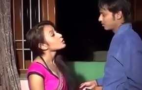 Bhabhi and dever home alone sex in india desi