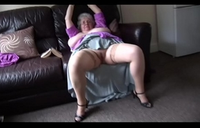 Matured granny about mammoth titties and soft shrub levelling and teasing
