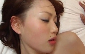 Yui Matsuno has vagina the waters drilled by licked rod