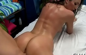 Naked massage clip scene